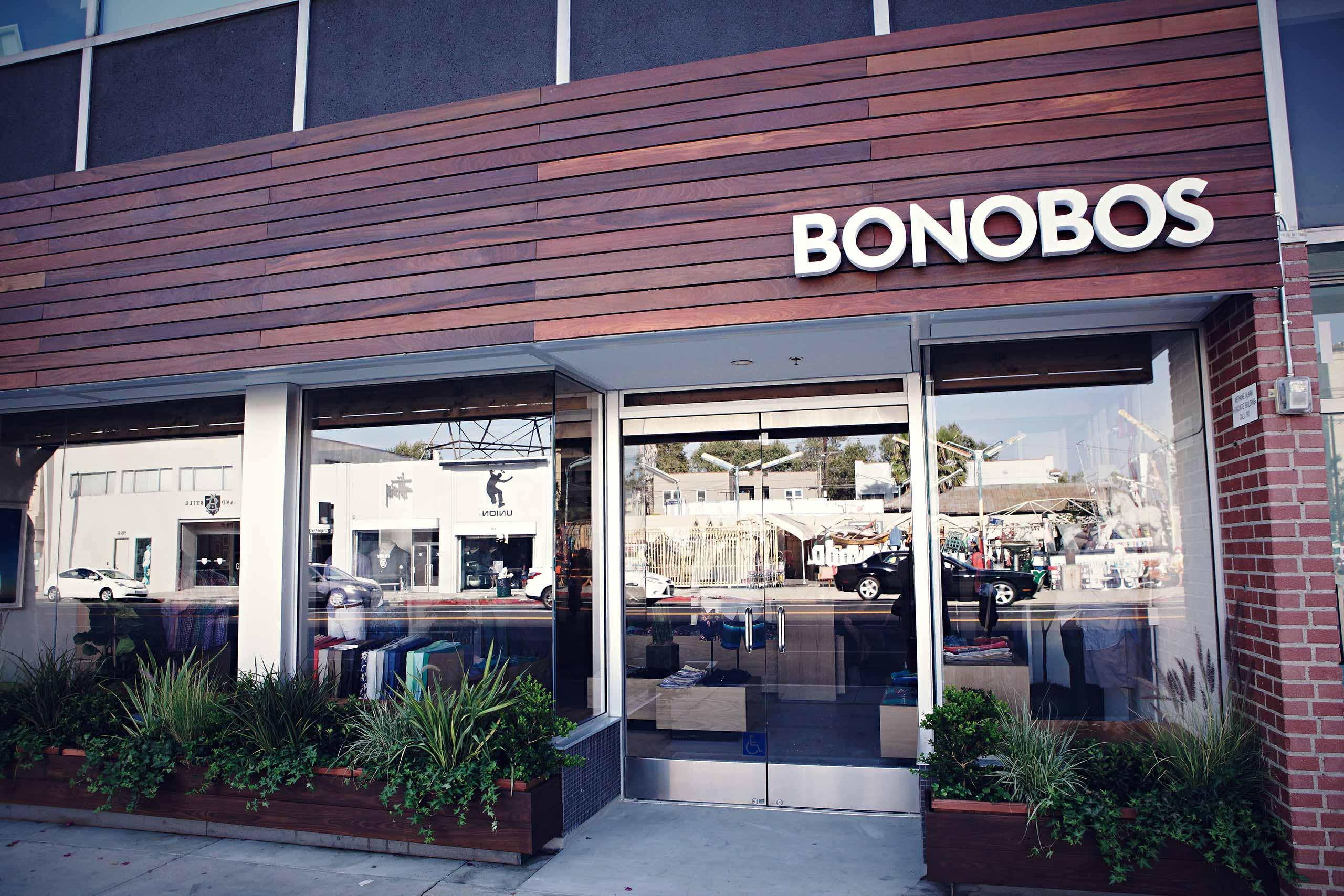 Bonobos store exterior