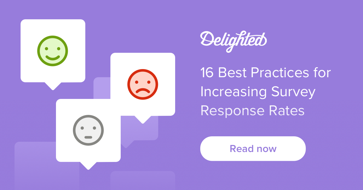 16 best practices for increasing survey response rate