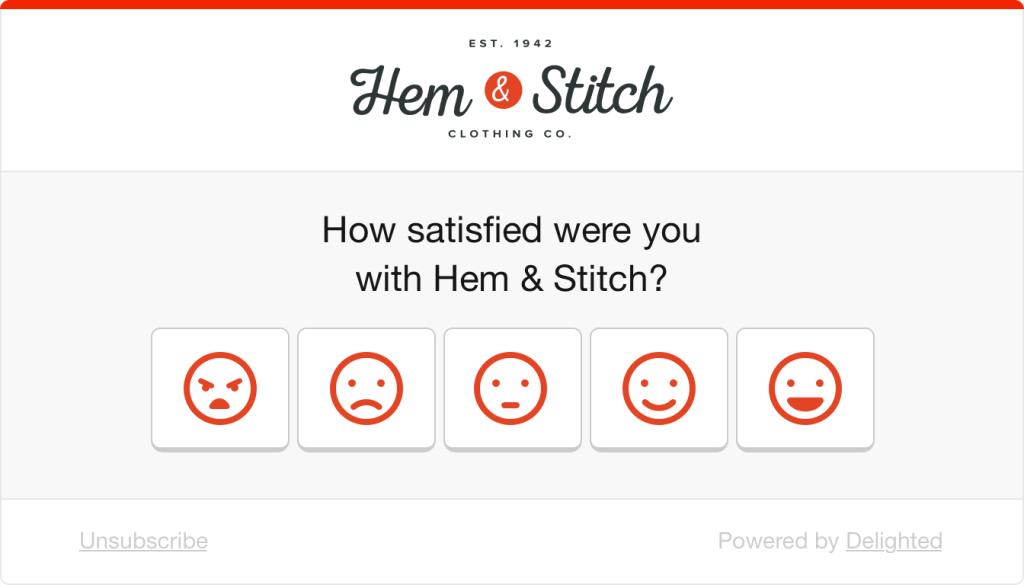 Smiley survey example