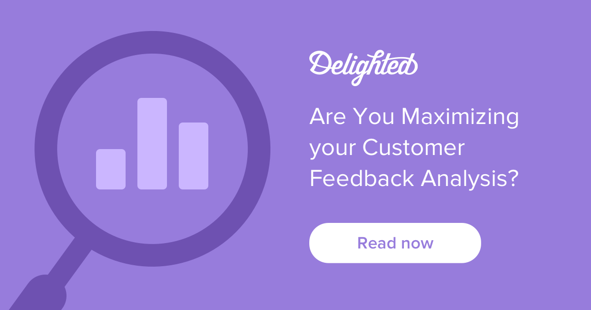 Customer experience feedback analysis