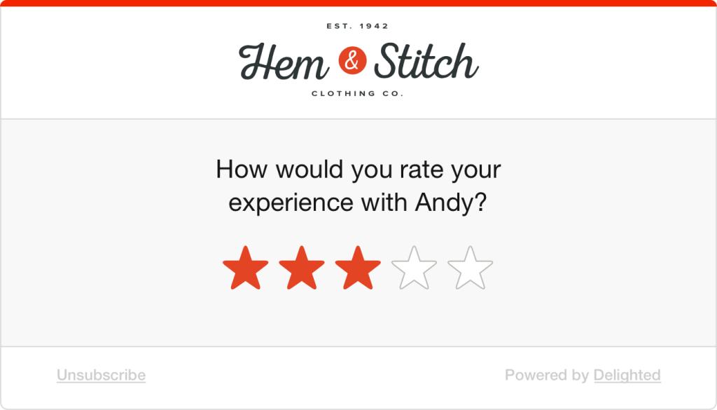 Graphic survey example