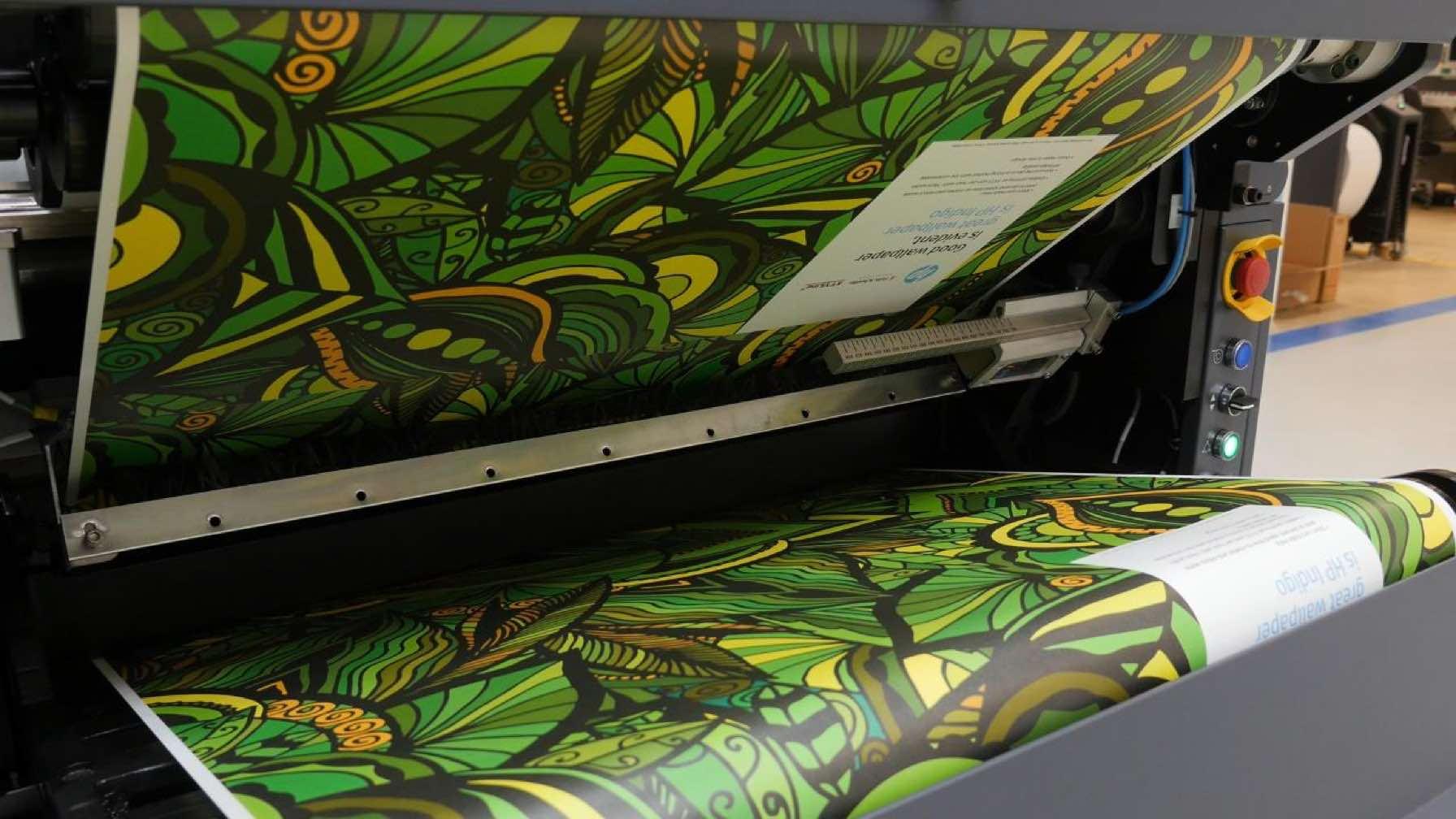 HP Indigo printer