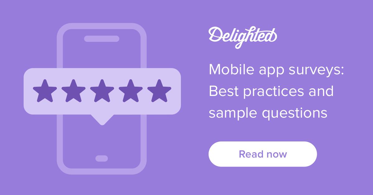 mobile app survey best practices