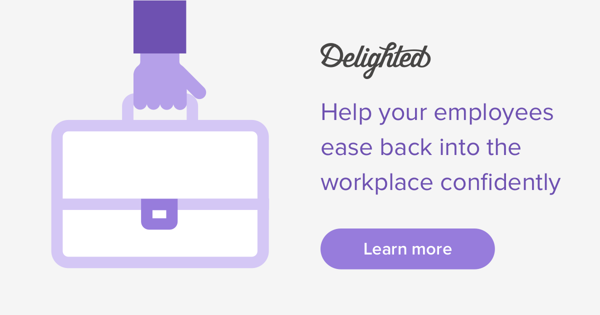 help ease employees back into the workplace