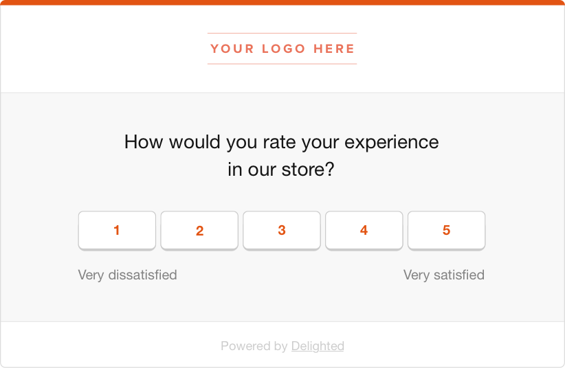 retail in-store experience survey
