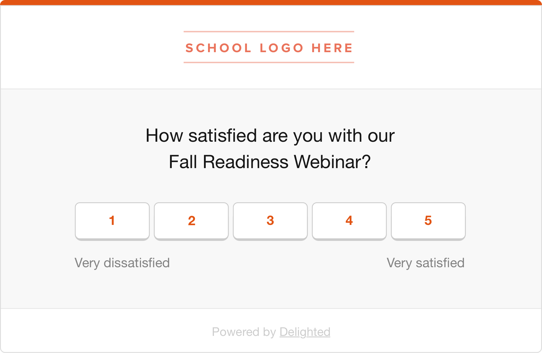return-to-school csat surveys