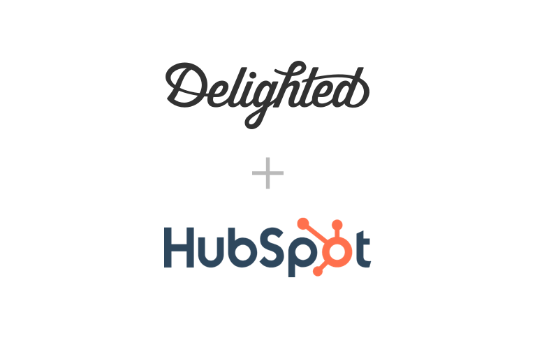 Hubspot survey integration with Delighted