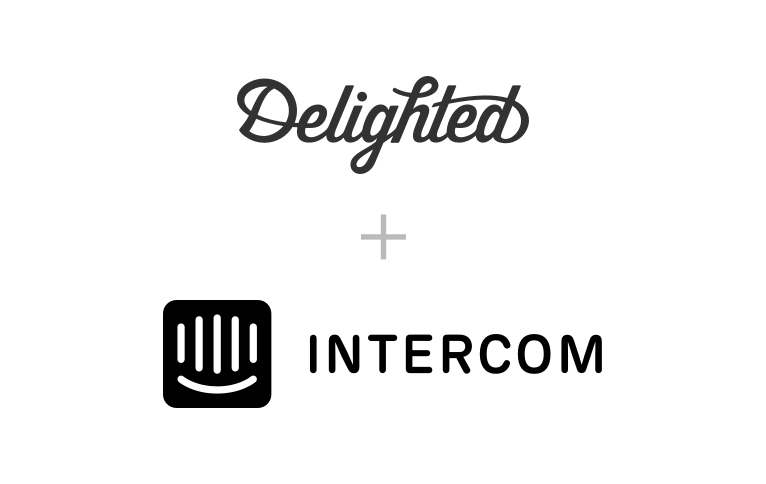Intercom survey integration with Delighted