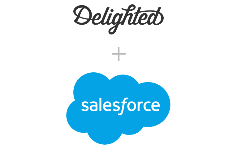 Salesforce survey integration with Delighted