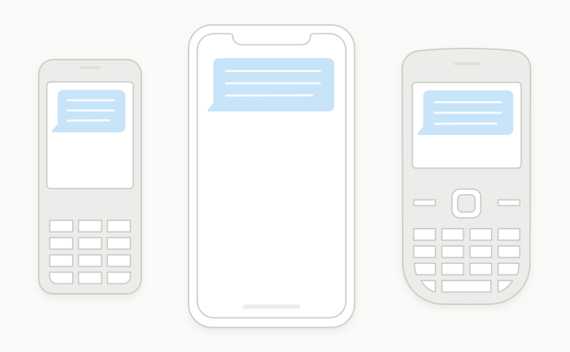 send text survey to all types of mobile phones