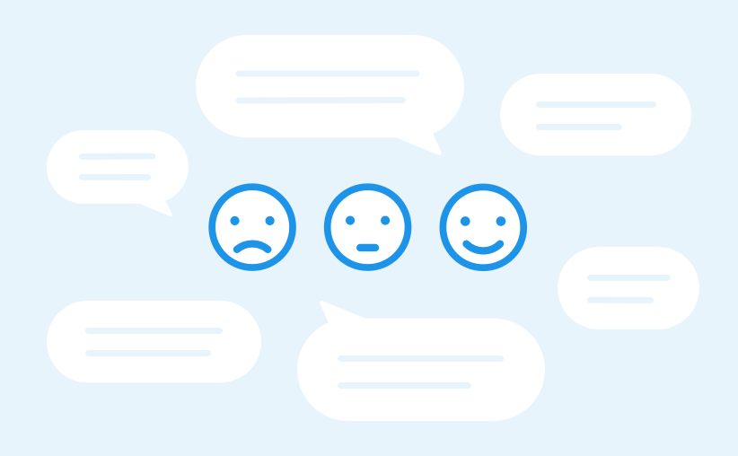 share customer feedback with your team