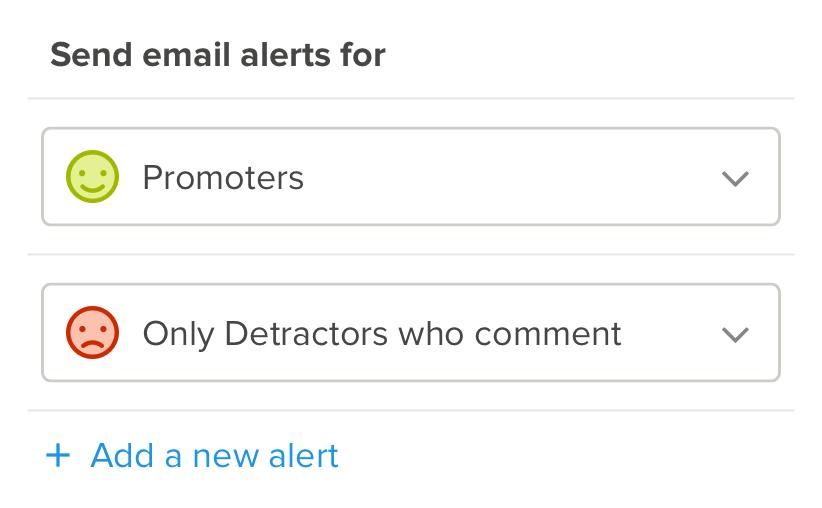 free customer survey alerts