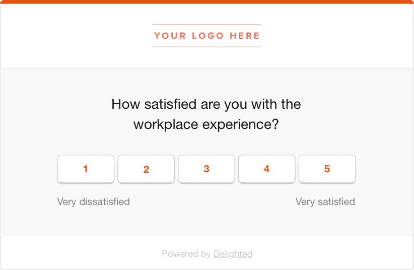 employee pulse survey csat question
