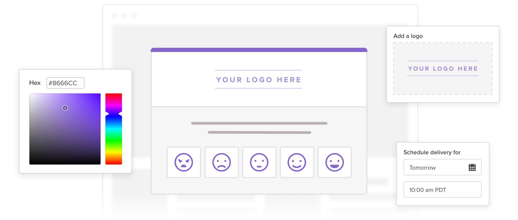 customer survey template hero image