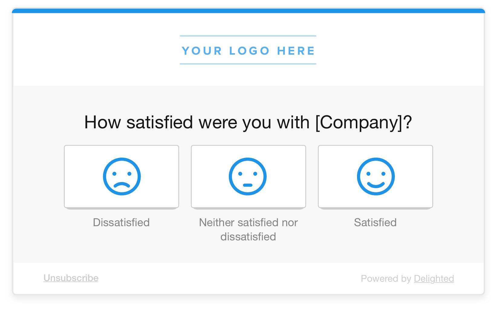 3-point smileys csat survey